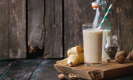 Banános-diós smoothie