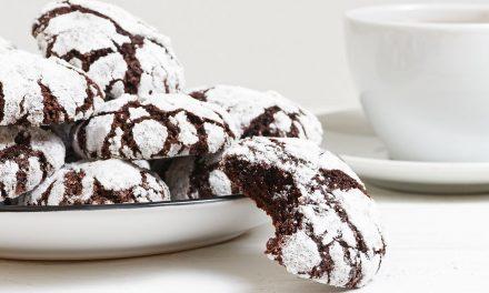 Csokis pöffeteg keksz